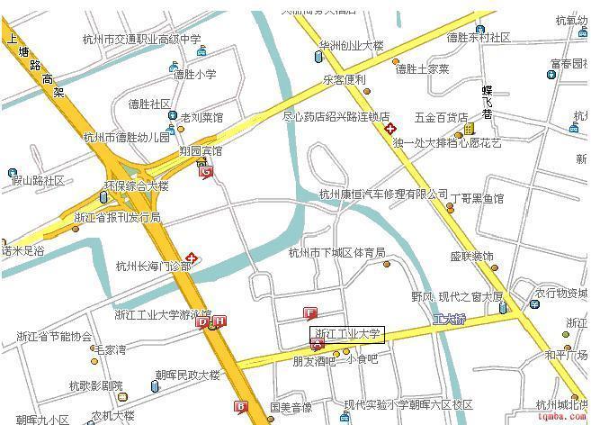 2009年杭州手绘地图